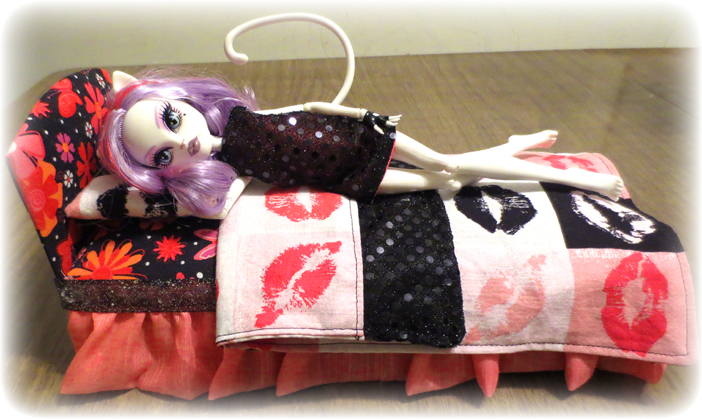 Ultimate monster high bed diy threaded alchemy for How to make a high bed